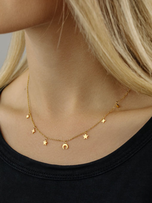 Night Sky Kette ICRUSH Gold/Silver/Rosegold