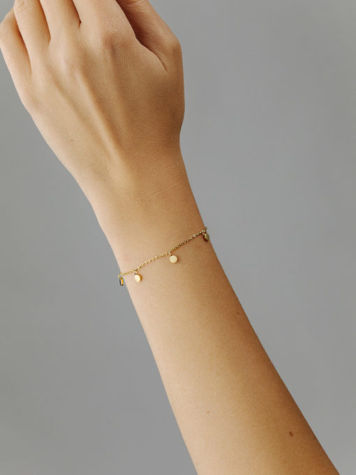 Moments Armband ICRUSH Gold/Silver/Rosegold