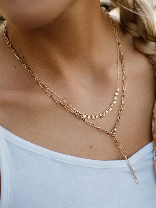 Seamless Kette ICRUSH Gold/Silver/Rosegold