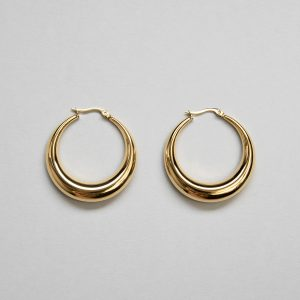 Iconic Hoop Creole in Gold