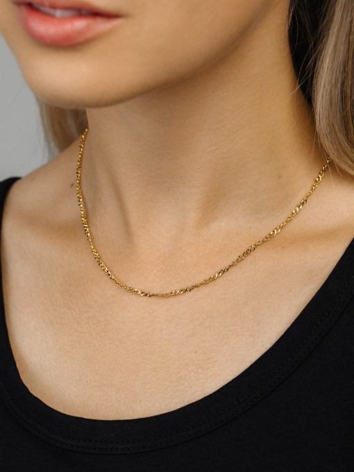 Infinity Kette ICRUSH Gold/Silver/Rosegold