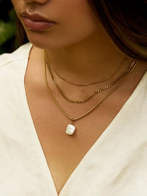 Double Trouble Kette ICRUSH Gold/Silver/Rosegold