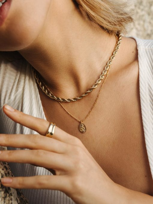Profound Kette Gold ICRUSH Gold/Silver/Rosegold