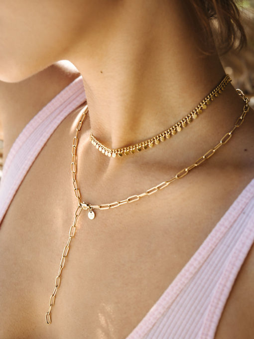 Patience Kette Gold ICRUSH Gold/Silver/Rosegold