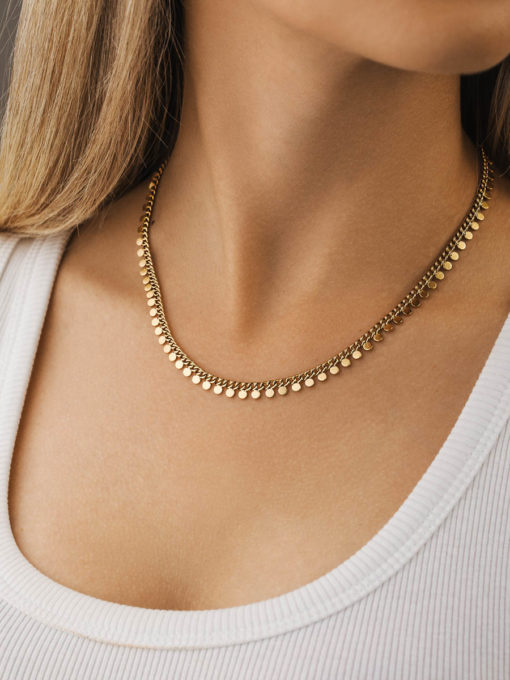 Patience Kette Silber ICRUSH Gold/Silver/Rosegold