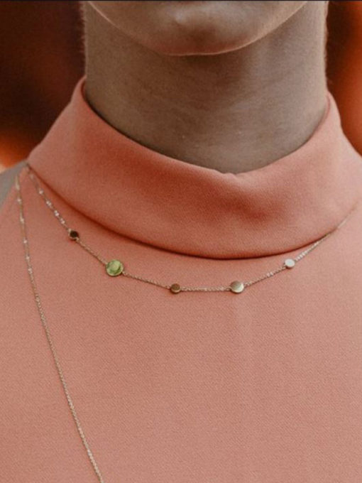 CONNECTING DOTS KETTE SILBER ICRUSH Gold/Silver/Rosegold