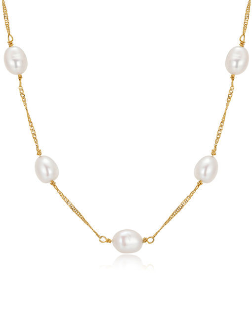 newfemininity KETTE SILBER ICRUSH Gold/Silver/Rosegold