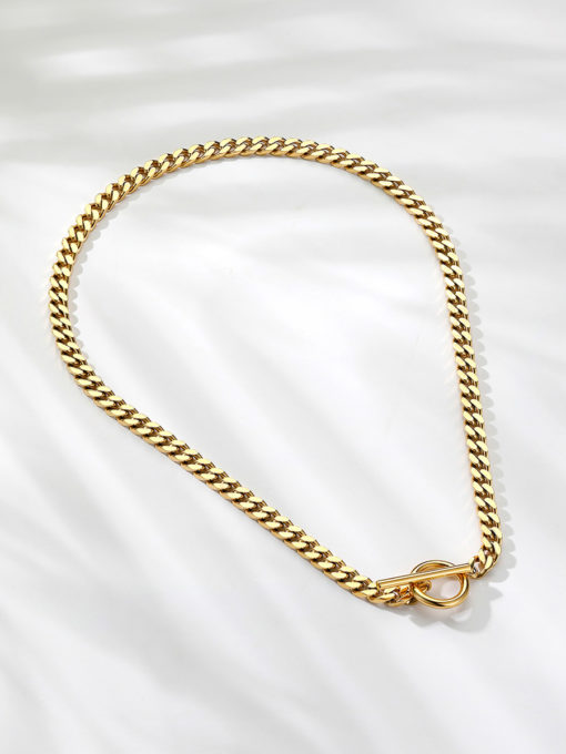 CHUNKY KETTE GOLD ICRUSH Gold/Silver/Rosegold
