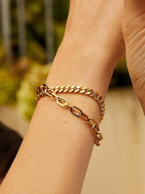 Becoming Armband Gold ICRUSH Gold/Silver/Rosegold