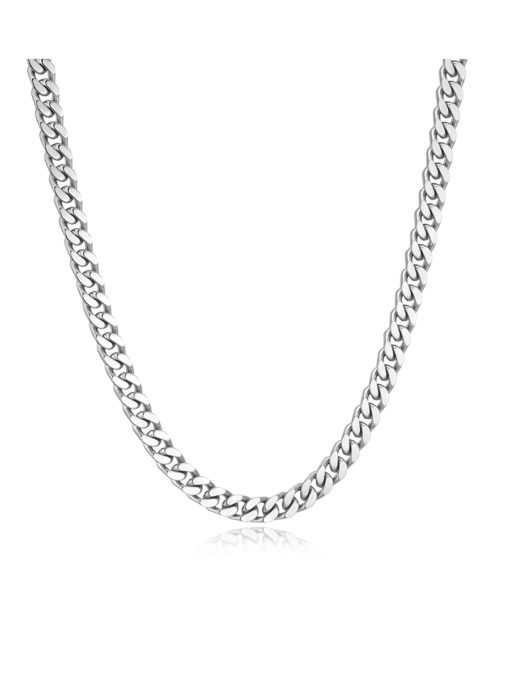 CHUNKY EXTENDED KETTE SILBER ICRUSH Gold/Silver/Rosegold