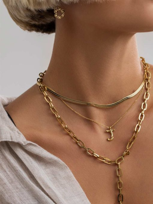 Twisted Ohrringe Gold ICRUSH Gold/Silver/Rosegold