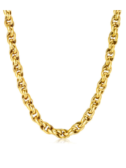 LOOSE ROPE KETTE GOLD ICRUSH Gold/Silver/Rosegold