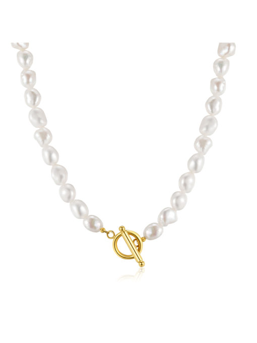 Pearls OT Kette Gold ICRUSH Gold/Silver/Rosegold