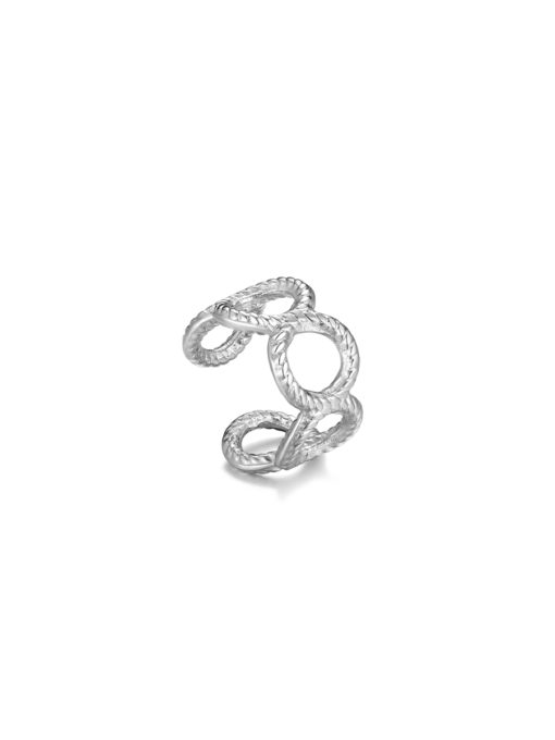 Infinity EARCUFF Silver ICRUSH Gold/Silver/Rose Gold