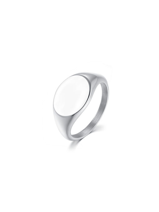Mirror Ring Silver - ENGRAVABLE ICRUSH Gold/Silver/Rose Gold