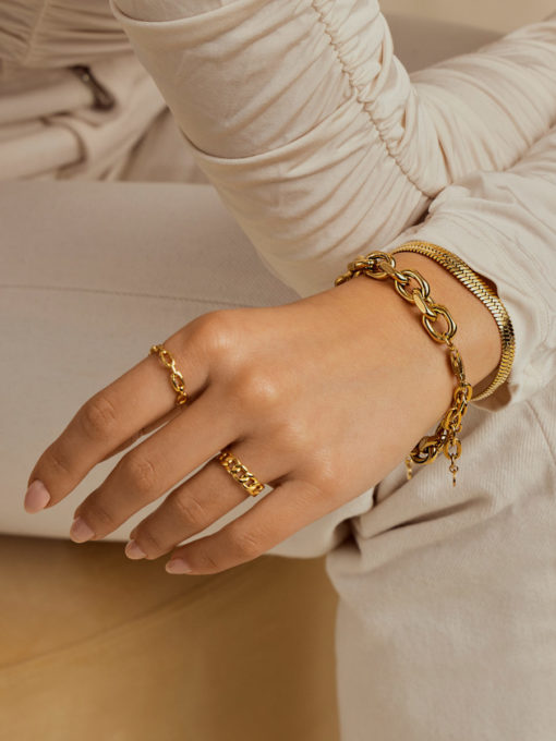 CONSISTENT Ring Gold ICRUSH Gold/Silver/Rosegold