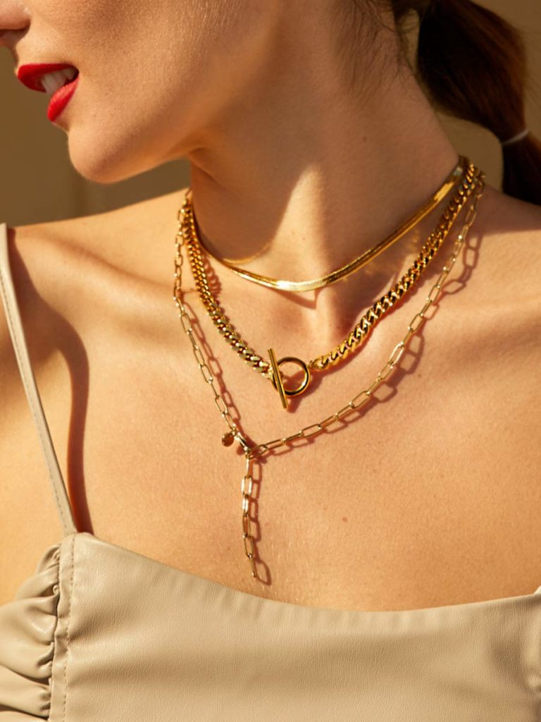 Edgy Set Gold ICRUSH Gold/Silver/Rosegold