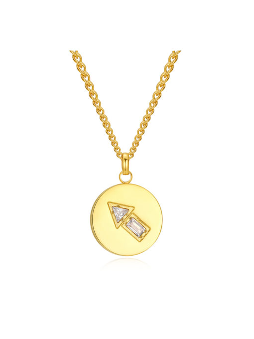 Upright Kette Gold ICRUSH Gold/Silver/Rosegold