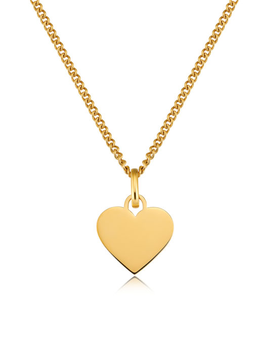 Pure Heart Kette Gold ICRUSH Gold/Silver/Rosegold