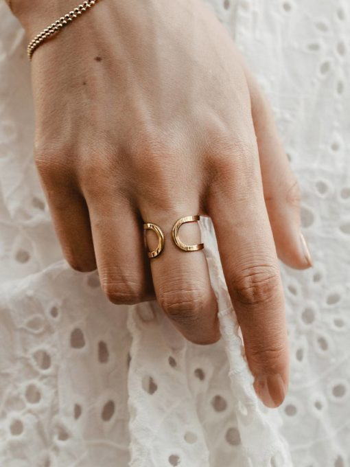 Double Ring Gold ICRUSH Gold/Silver/Rosegold