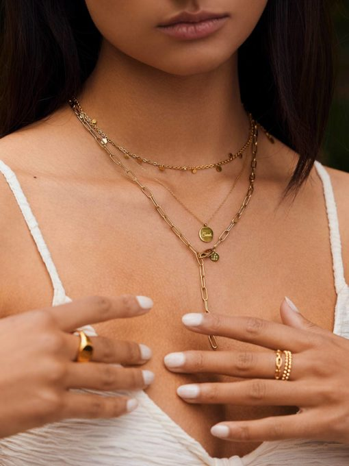 Adore Kette Gold ICRUSH Gold/Silver/Rosegold