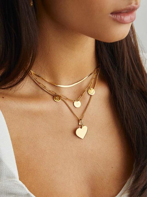 Adore Chain Gold ICRUSH Gold/Silver/Rose Gold