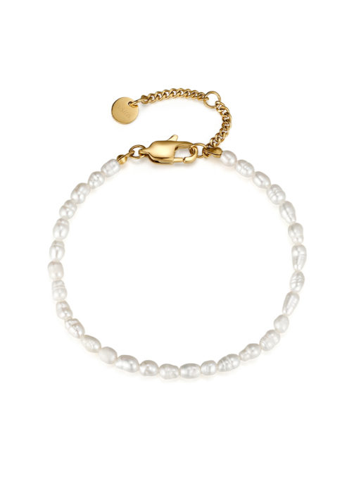 Classic Pearls ARMBAND Gold ICRUSH Gold/Silver/Rosegold