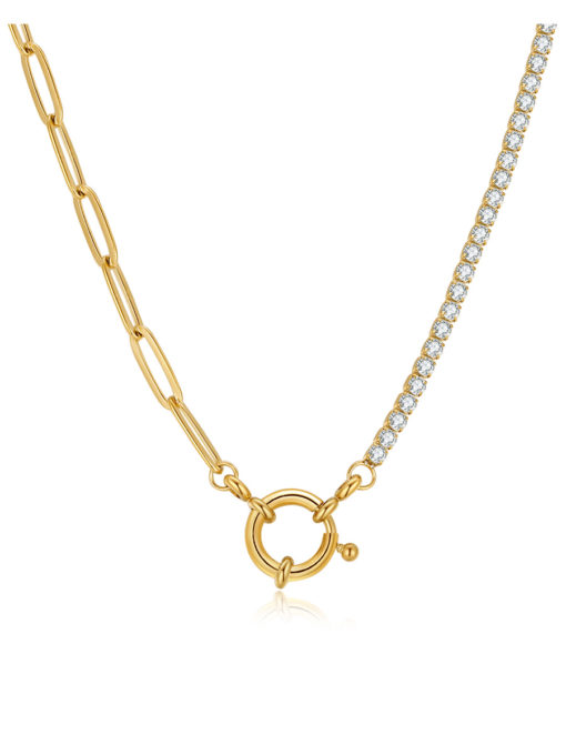 Confluence Kette Gold ICRUSH Gold/Silver/Rosegold