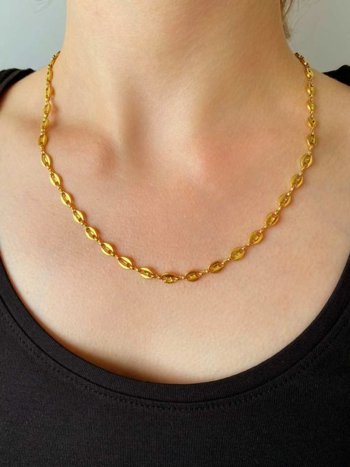 Contented Kette Gold ICRUSH Gold/Silver/Rosegold