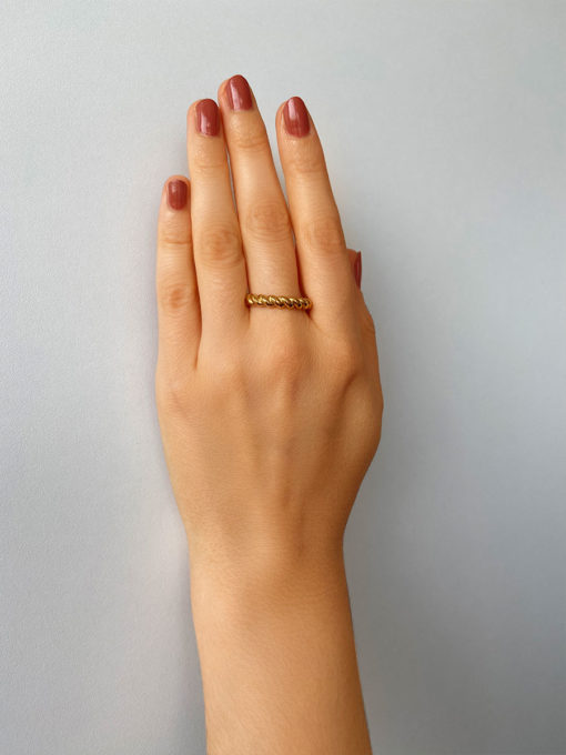 TWIRL Ring Silber ICRUSH Gold/Silver/Rosegold