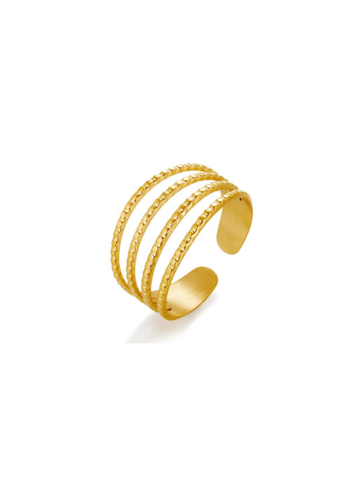 Comely Ring Gold ICRUSH Gold/Silver/Rosegold