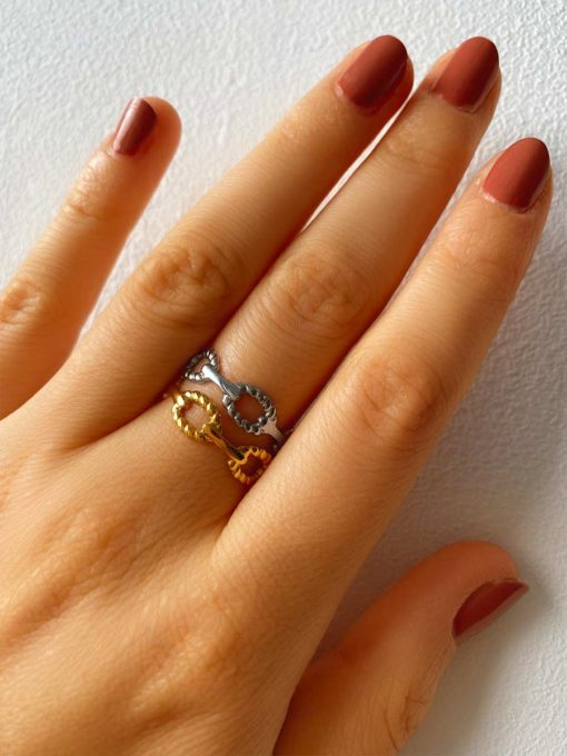Vitality Ring Gold ICRUSH Gold/Silver/Rosegold