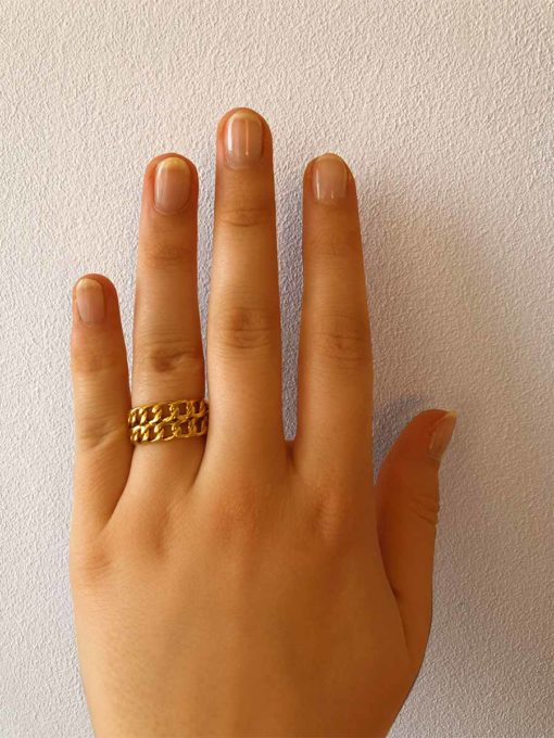 Reflection Ring Gold ICRUSH Gold/Silver/Rosegold