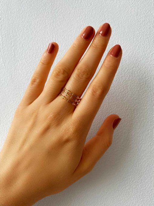 Trio Ring Gold ICRUSH Gold/Silver/Rosegold