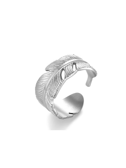 Feather Ring Silber ICRUSH Gold/Silver/Rosegold